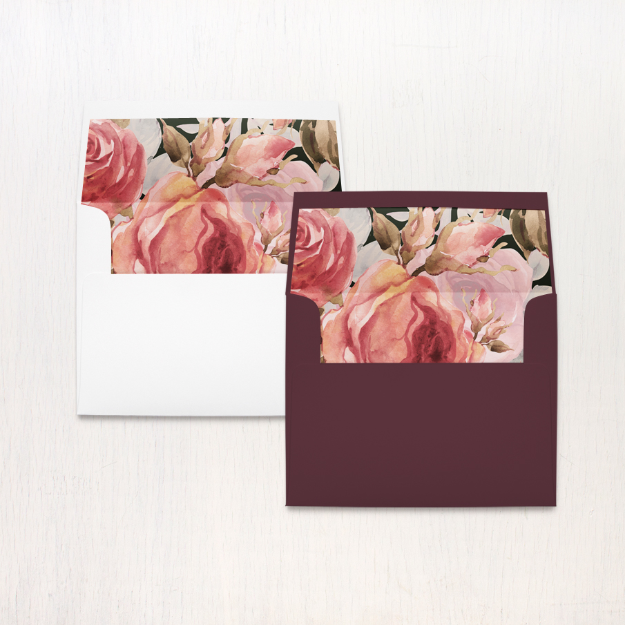 Blush Petals Thank You Cards