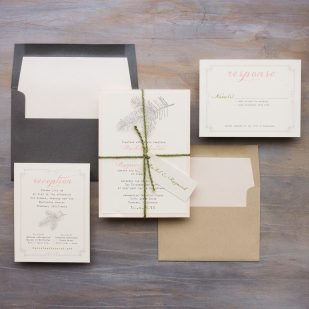 Moss Tree Wedding Invitations