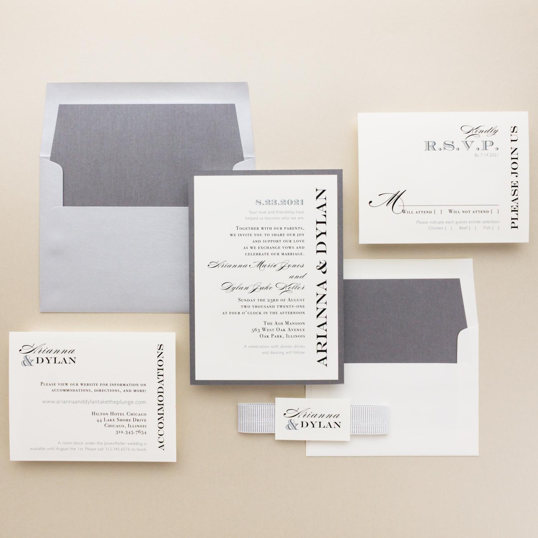 Elegant Wedding Invitations: Classic Elegant Wedding Invitations