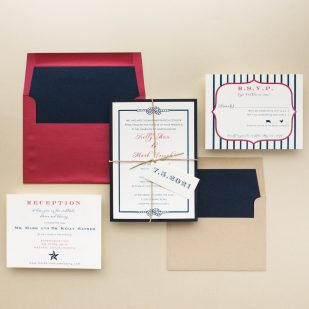 Stars & Stripes Wedding Invitations