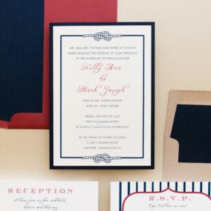 Stars & Stripes Wedding Invitations