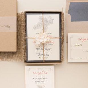 Moss Tree Wedding Invitations