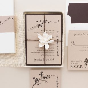 Ivory Romance Wedding Invitations
