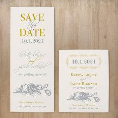 Modern Romance Save the Dates