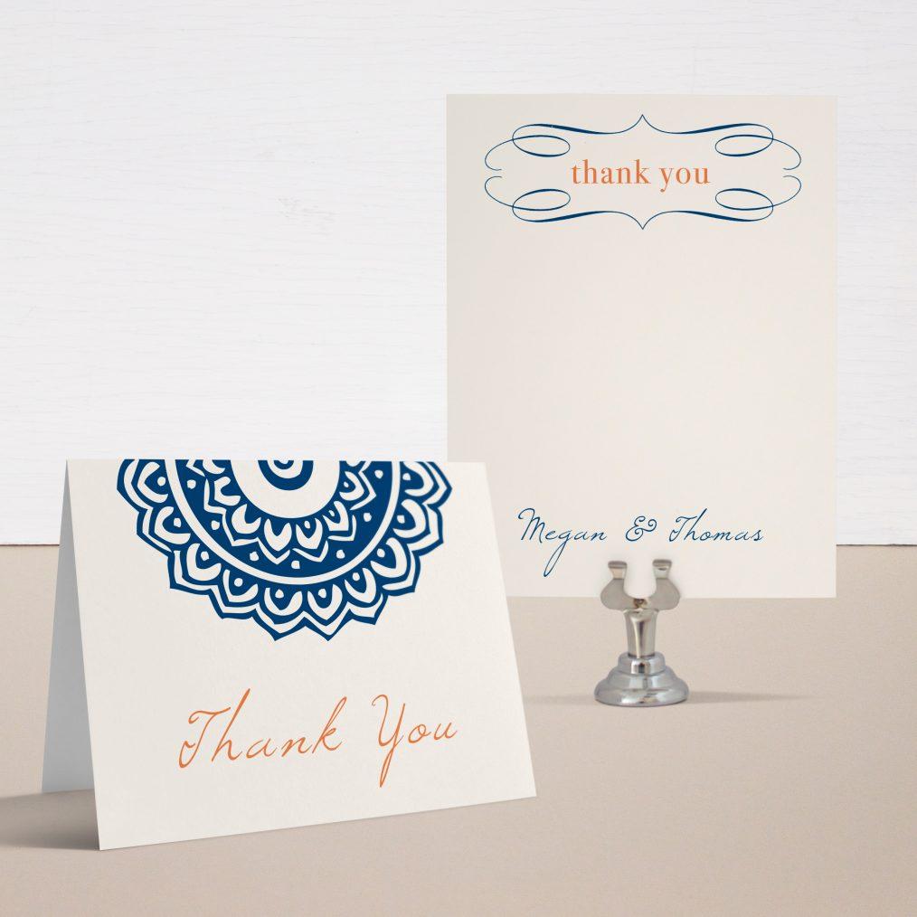 Navajo Navy Thank You Cards