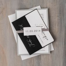 blackscriptweddinginvitations