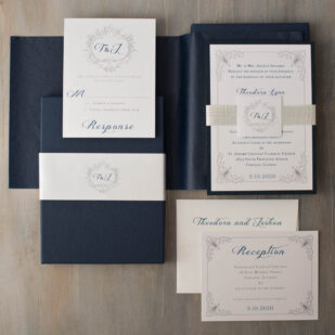 Classic Love Wedding Invitations