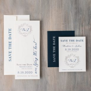 Classic Love Save the Dates