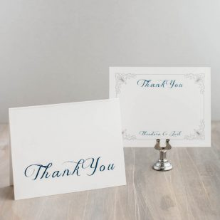 Classic Love Thank You Cards