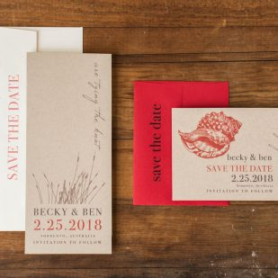 Coral Reef Save the Dates