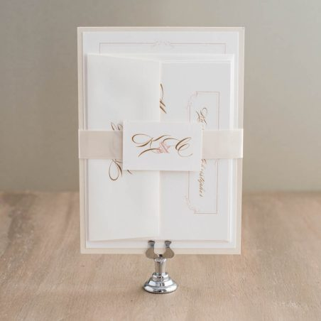 Classic Ivory Wedding Invitations