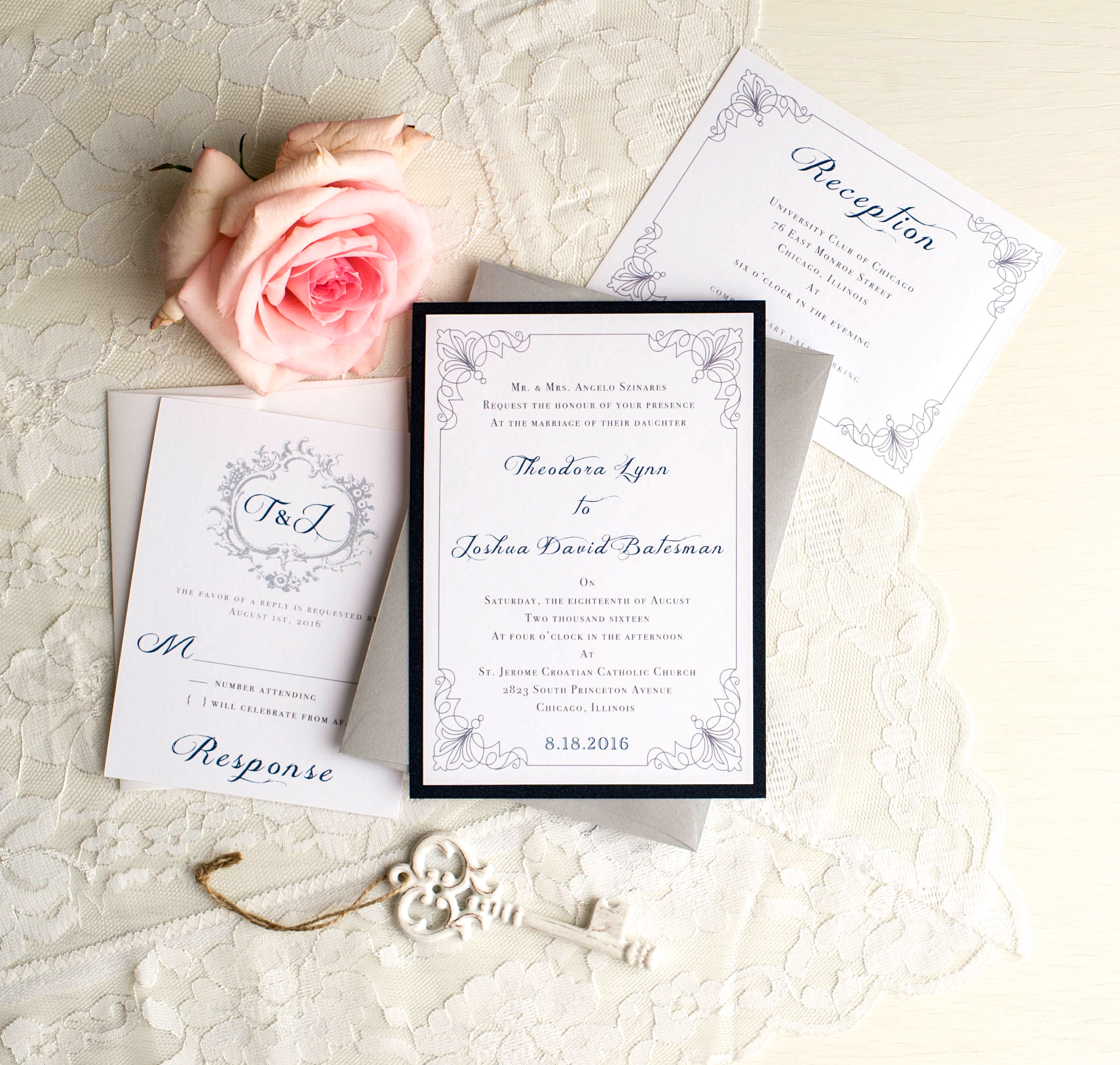 Elegant Wedding Invites Coupon | feliciaday.us