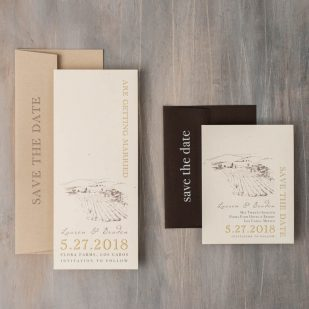 Farm Chic Save the Dates