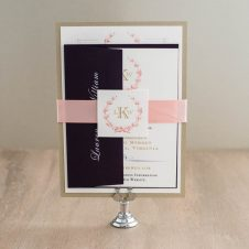 goldandblushmonogramweddinginvitaitons