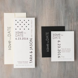 Hearts & Lace Save the Dates