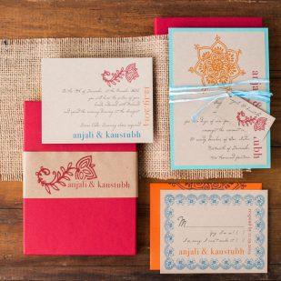 Henna Love Wedding Invitations