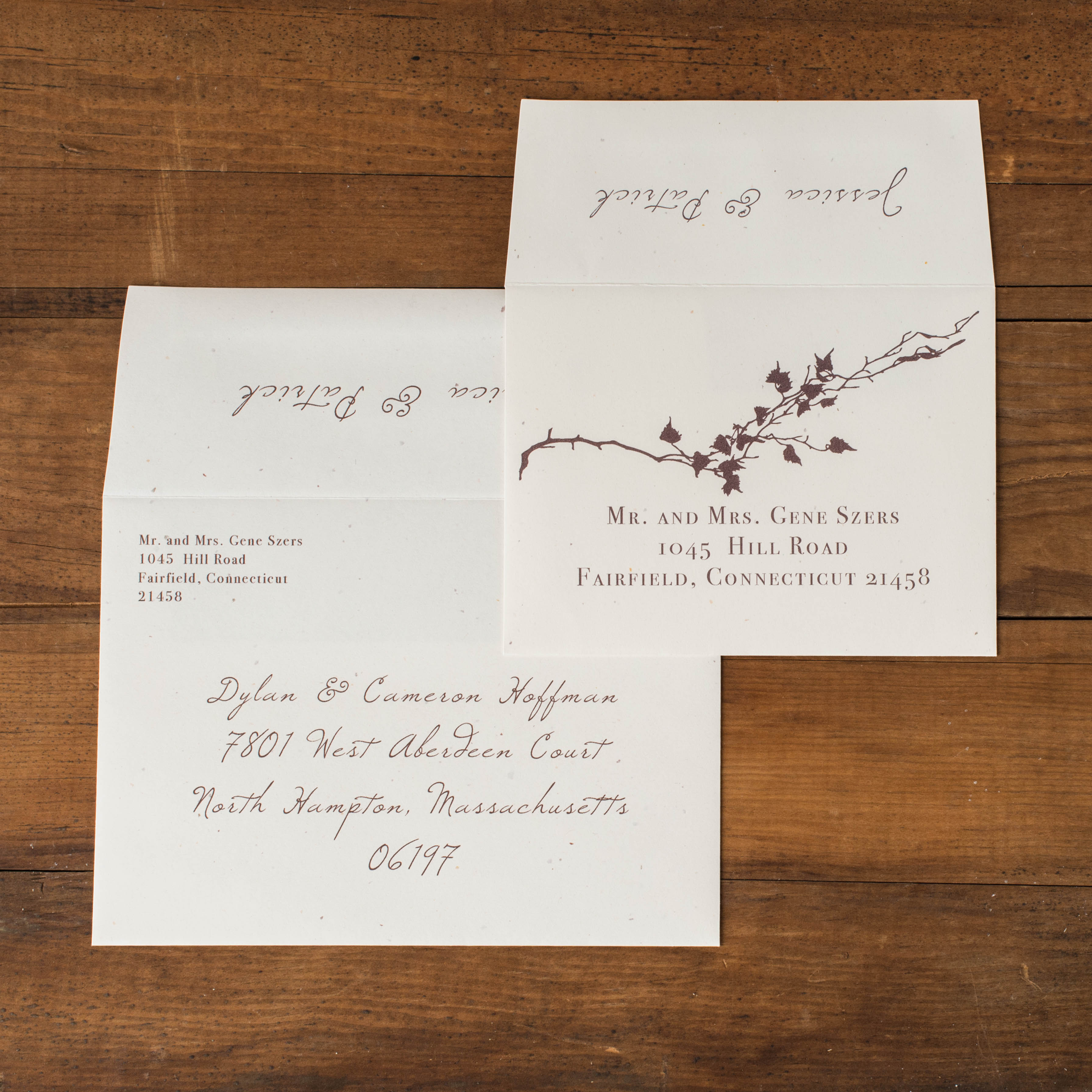 Ivory Romance Customizable Rustic Burlap Wedding Invitations ...