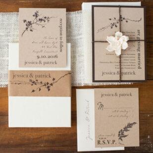 Ivory Romance Wedding Invitations