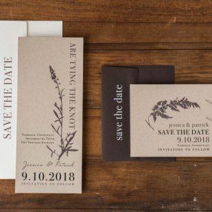 Ivory Romance Save the Dates