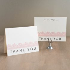 modernlacethankyoucards
