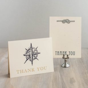 Nautical Bliss Thank You Cards
