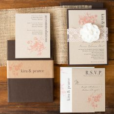 rusticeleganceboxedweddinginvitations