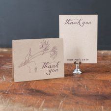 rusticlacethankyoucards
