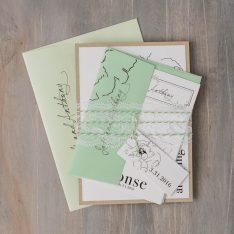 simplegreenweddinginvitations