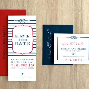 Stars & Stripes Save the Dates