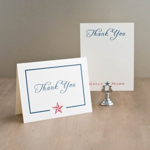 Stars & Stripes Thank You Cards