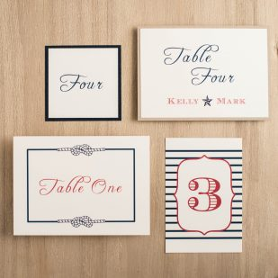 Stars & Stripes Flat Table Numbers