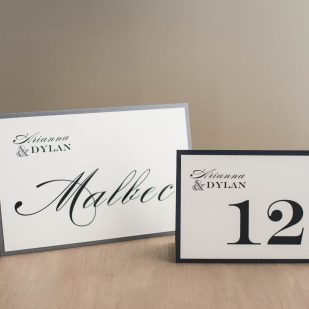 Classic Elegance Tented Table Numbers