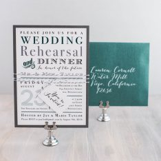 emeraldgreenrehearsalinvitations