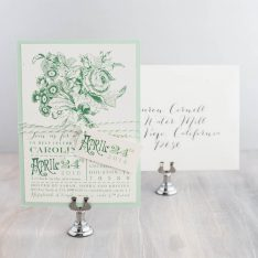 mintgreenfloralbridalshowerinvitations