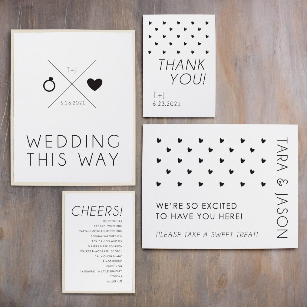 Hearts and Lace Custom Signs