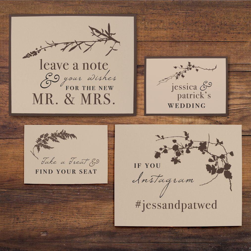 Ivory Romance Custom Signs