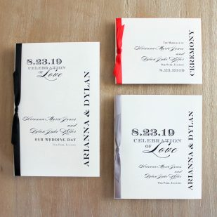 Classic Elegance Ceremony Booklet