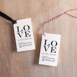 Classic Elegance Favor Tags