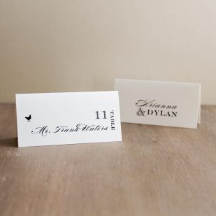 Classic Elegance Place and Escort Cards
