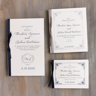 Classic Love Ceremony Booklet