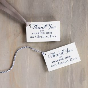 Classic Love Favor Tags