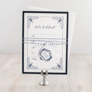 Classic Love Fill in the Blank Invitations