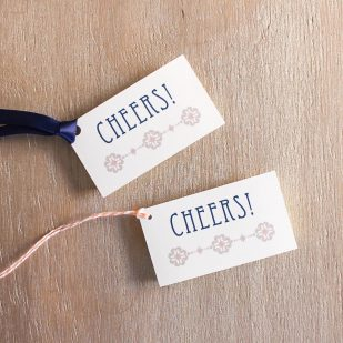 Deco & Lace Favor Tags