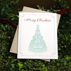 eleganttreeholidaycards10pack