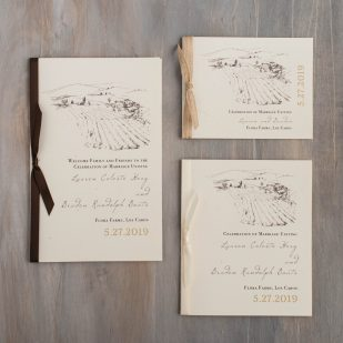 Farm Chic Ceremony Booklet