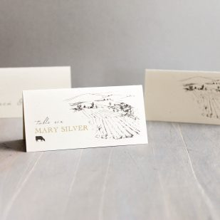 Farm Chic Place and Escort Cards