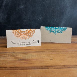 Henna Love Place and Escort Cards