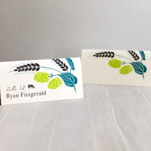 Hops Love Place and Escort Cards