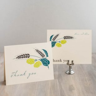 Hops Love Thank You Cards
