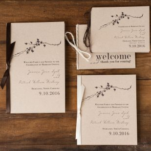 Ivory Romance Ceremony Booklet